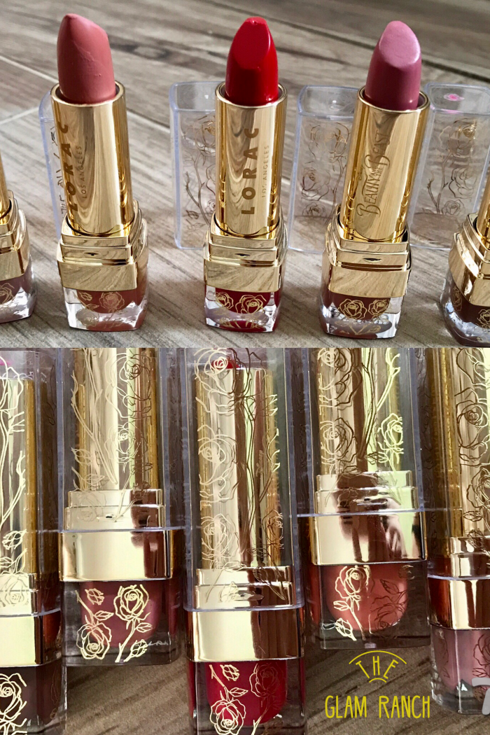 Lorac's Beauty and the Beast collection Lipsticks, is it worth the hype?